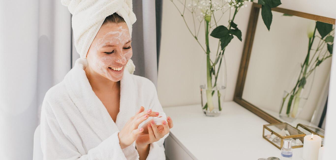 Skincare aanbrengen