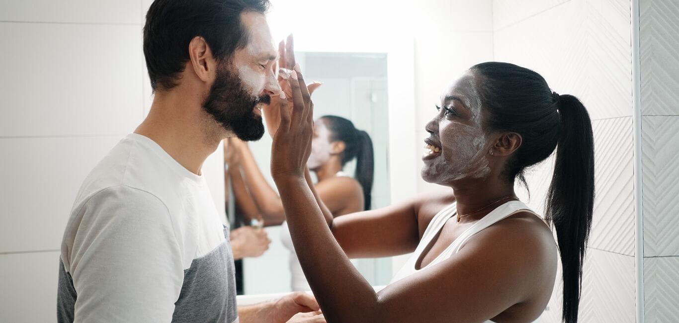 gezicht reinigen