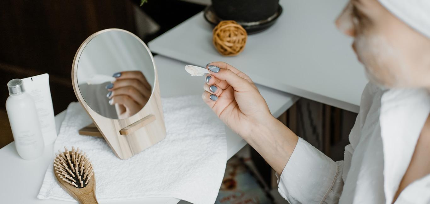 skincare routine aanbrengen