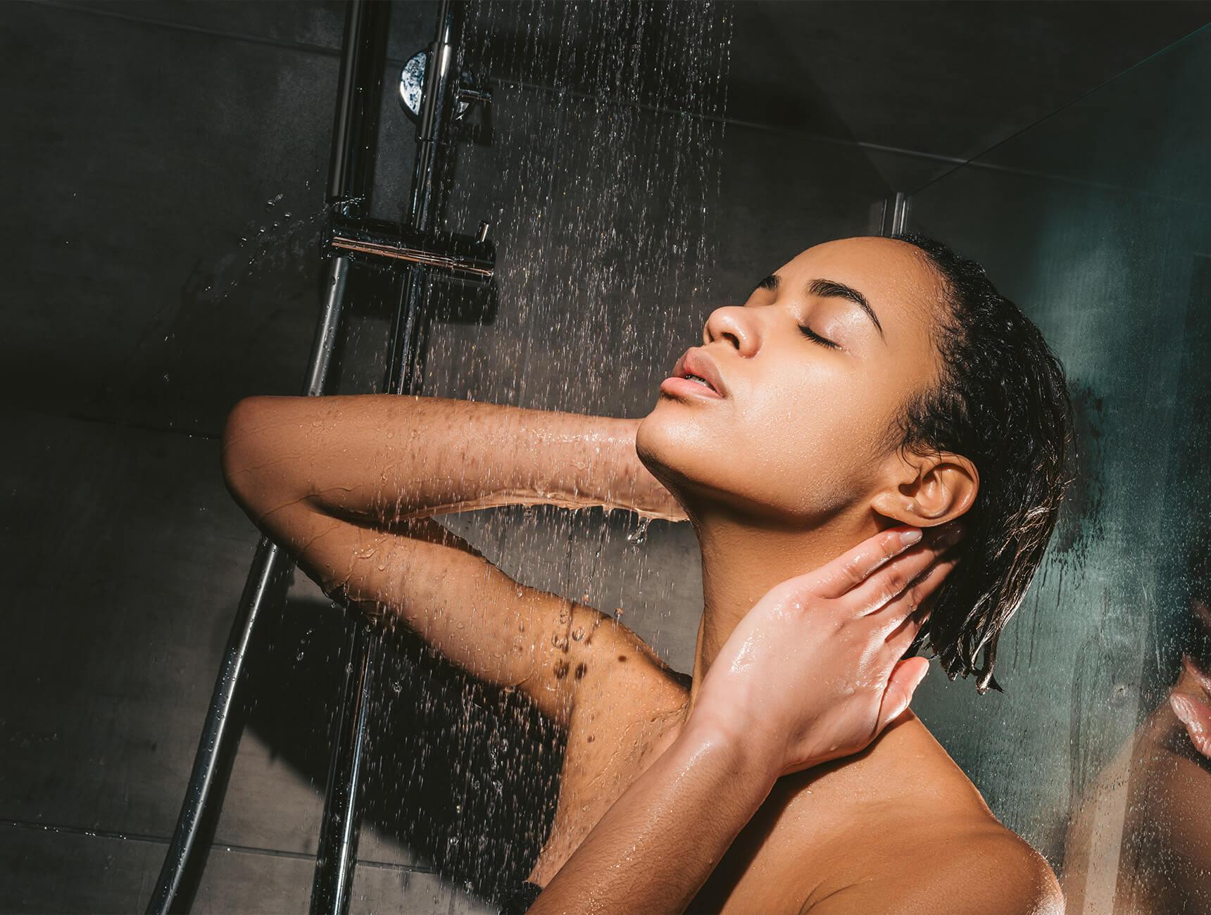 Jeukende of trekkende huid na het douchen