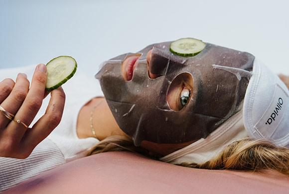 Olivida huidtype vrouwen
