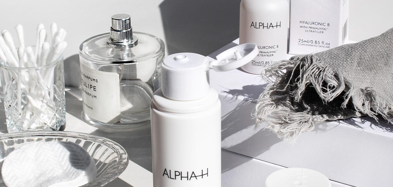 skincare routine alpha h